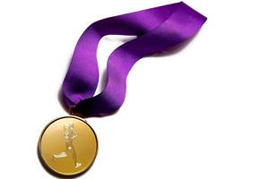 medal white-backround